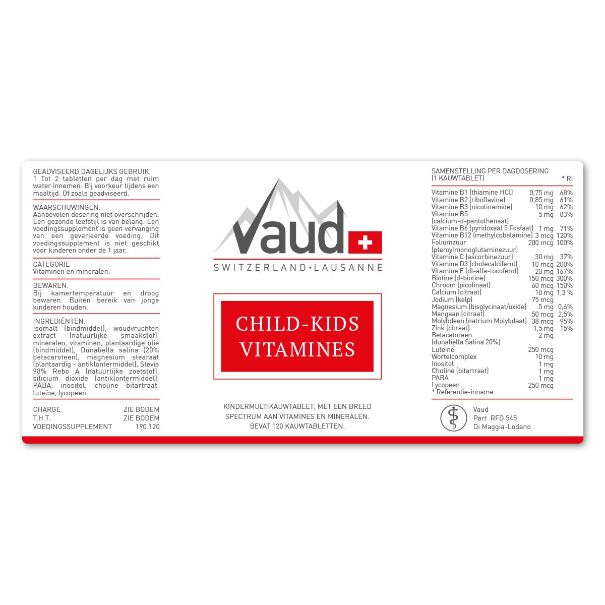 multi vitamine voor kinderen