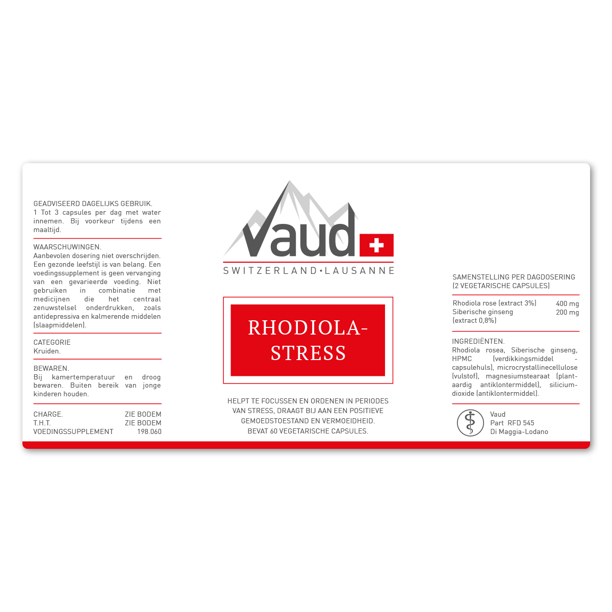 rhodiola-stress tijdens stressvolle situaties