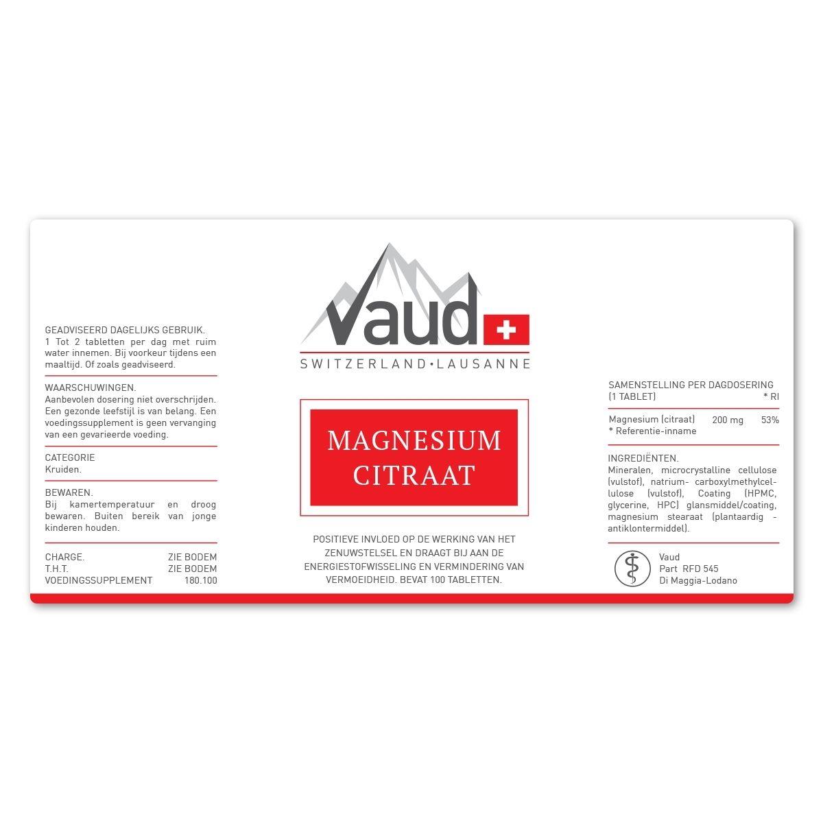Magnesium Citraat samenstelling