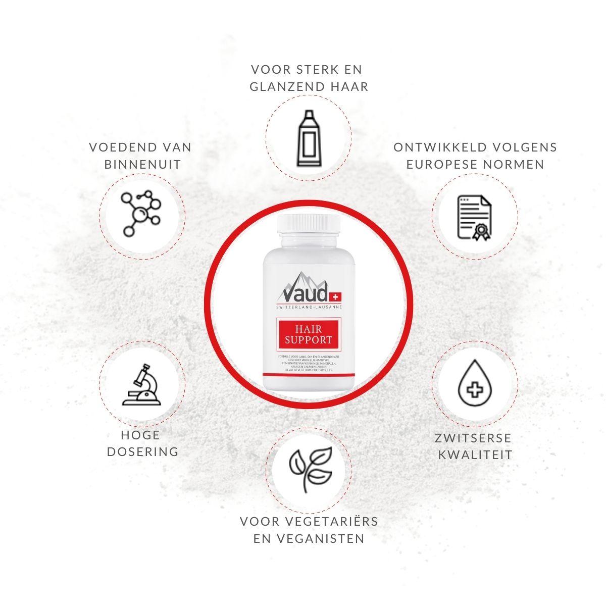 Haar vitamine - voordelen